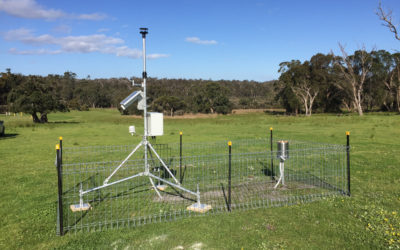 Weather Station Denmark Install | Water Corporation